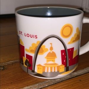You Are Here Starbucks Collection St. Louis Mug